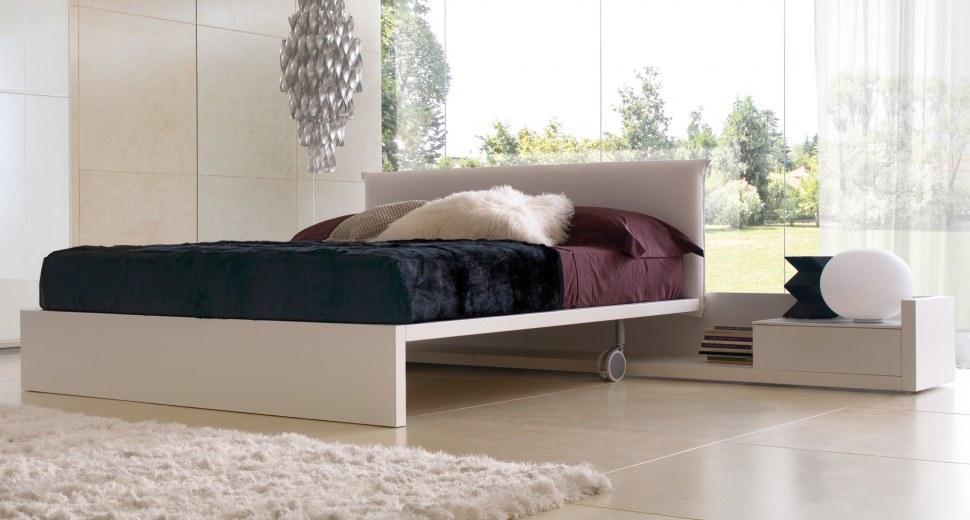 Italské postele a ložnice Zalf