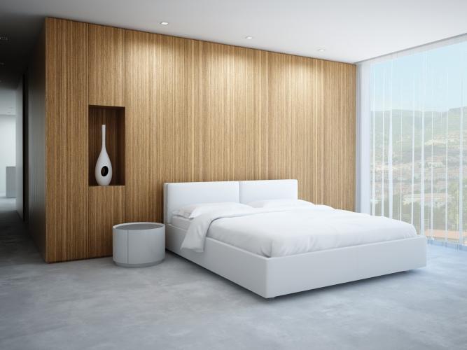 Moderní kožené postele