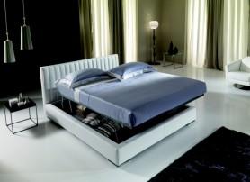 Luxusní kožené postele