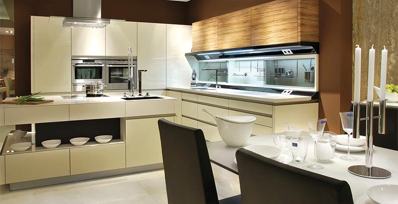 Moderní kuchyně a jídelny 2014