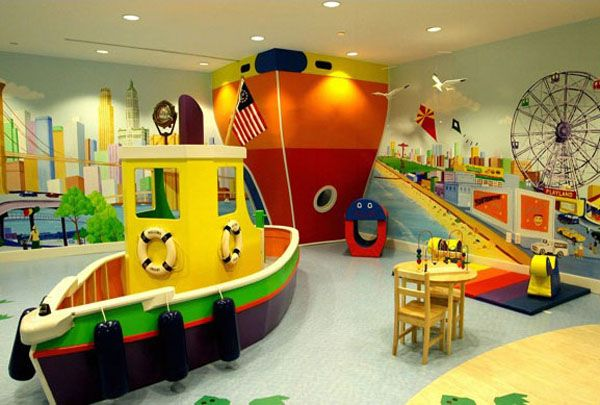 Netradiční dětské pokoje