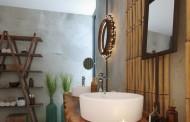 Oáza klidu, v koupelně v Zen stylu