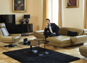 Stylový obývací pokoj