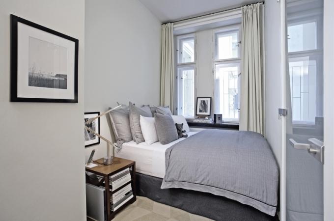 Menší ložnice nemusí být noční můra