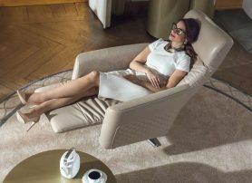 Luxusní křeslo pro relaxaci
