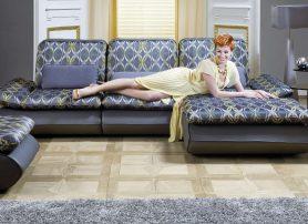 Designová sedací souprava pro luxusní interiéry