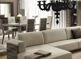 Designový interiér v béžovém odstínu