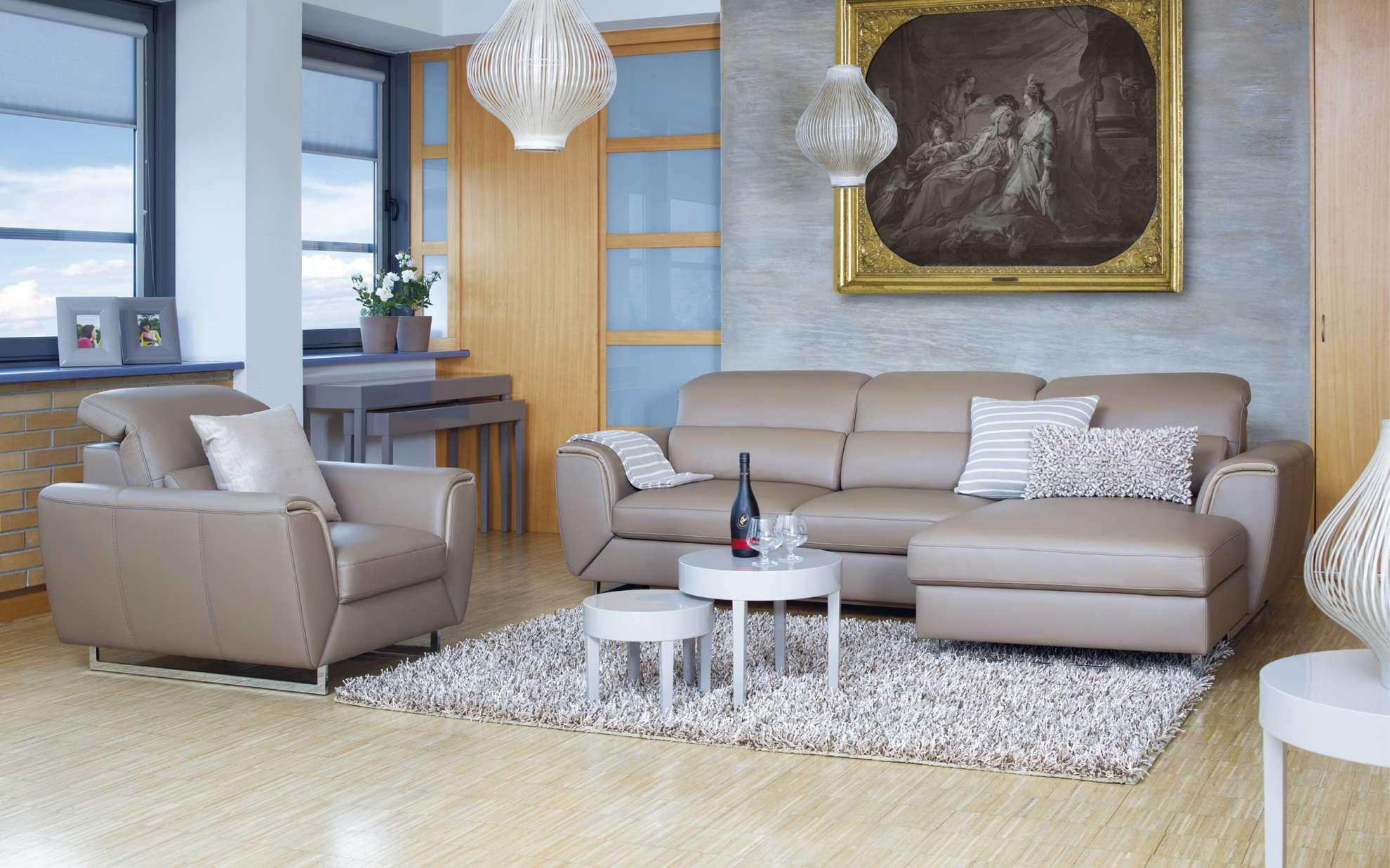Barevný obývací pokoj