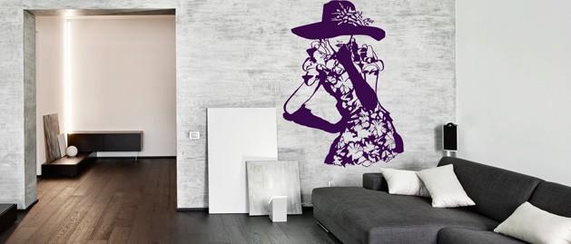 Rychlá proměna obývacího pokoje? Zkuste samolepky na zeď